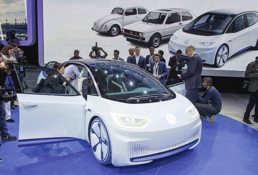 De Auto Industrie Maakt Minder Winst Op Elektrische Wagens Dus
